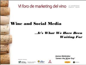 Social Media & Wine