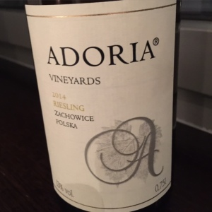Adoria Zacowice Poland Riesling